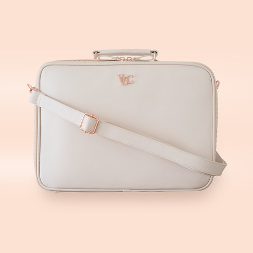 Medium Travel Bag - Cream