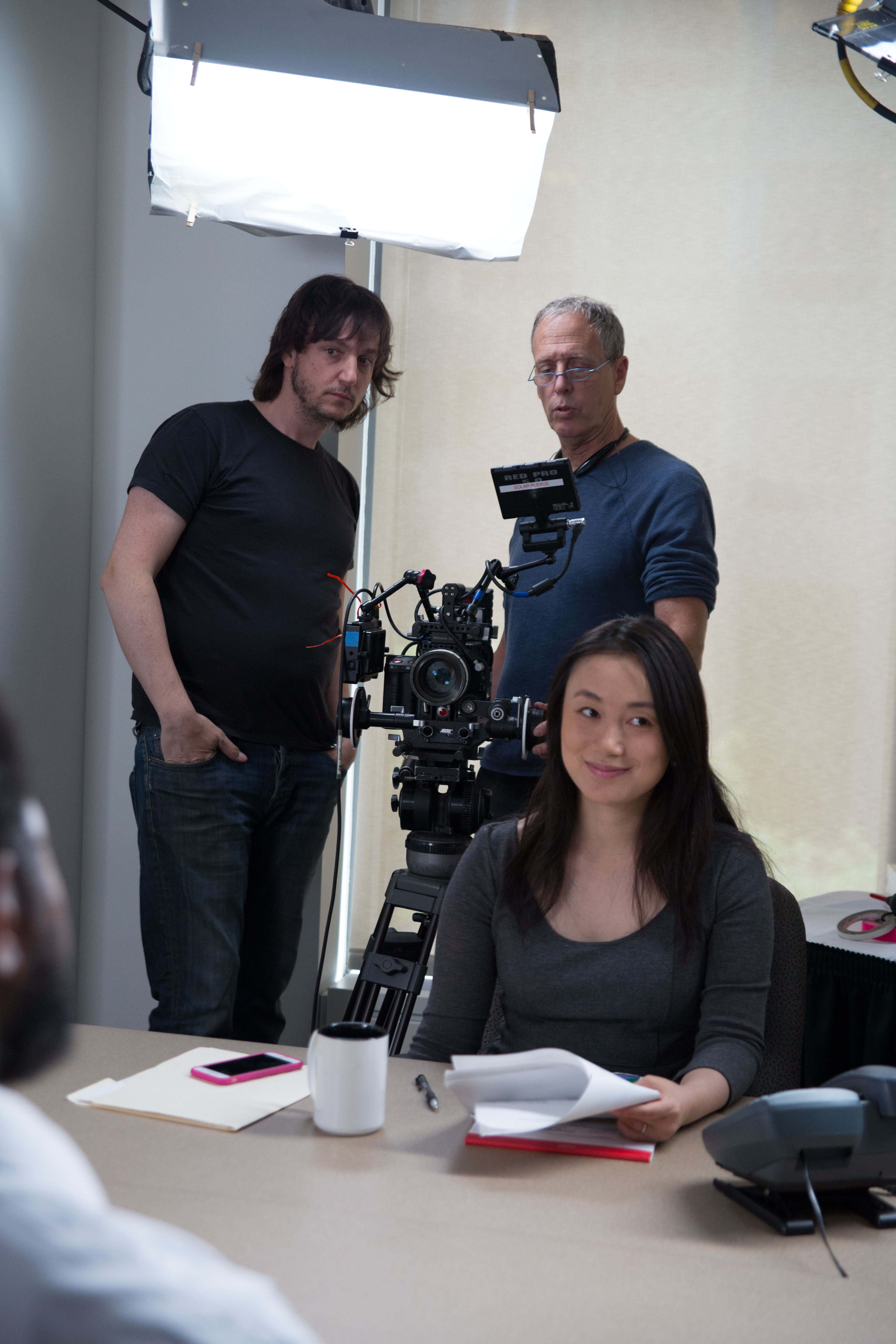 Director of Photography and Gaffer