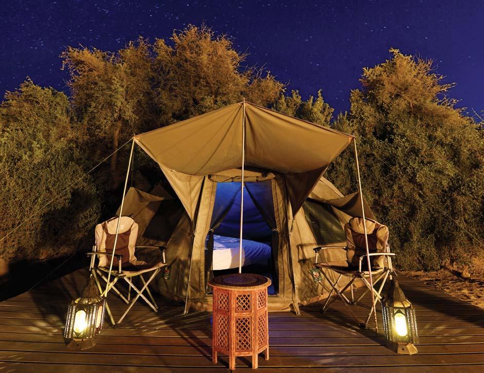 Dubai Desert Overnight Safari tent
