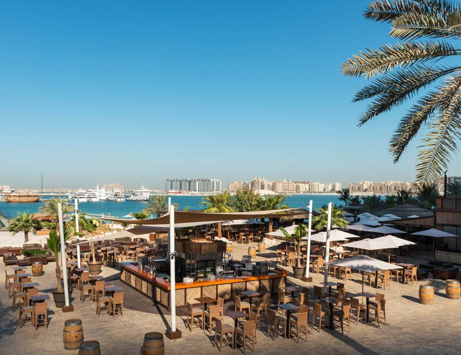Barasti beach bar, Dubai