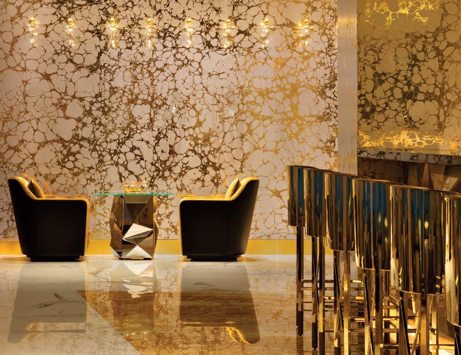 Gold bar, Burj Al Arab, Dubai
