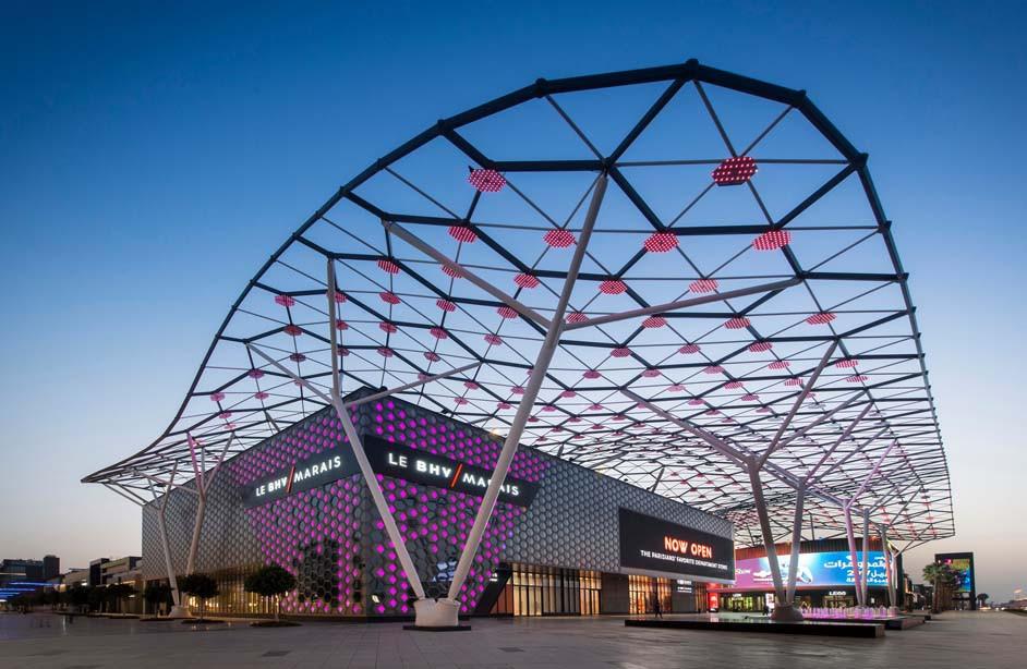 Dubai travel guide: City Walk, shopping mall