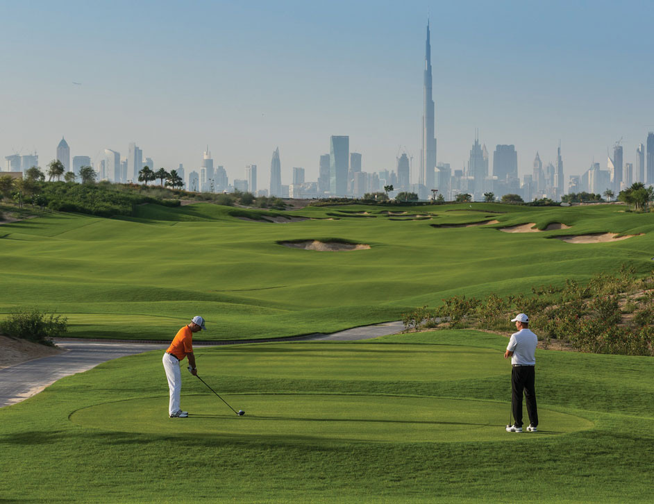 Dubai travel guide: Dubai Hills golf course