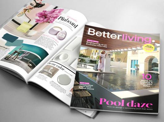 Project: Better Living, customer magazine