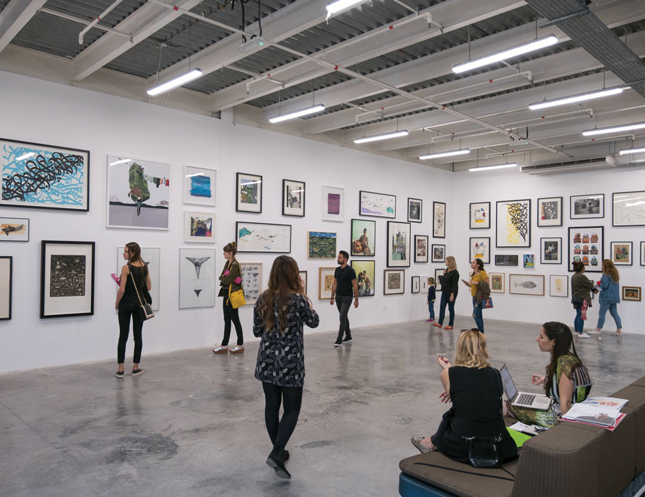 Dubai Travel Guide; Alserkal Avenue, art gallery