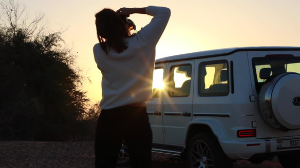 Project: Mercedes G-Class editorial photoshoot and video