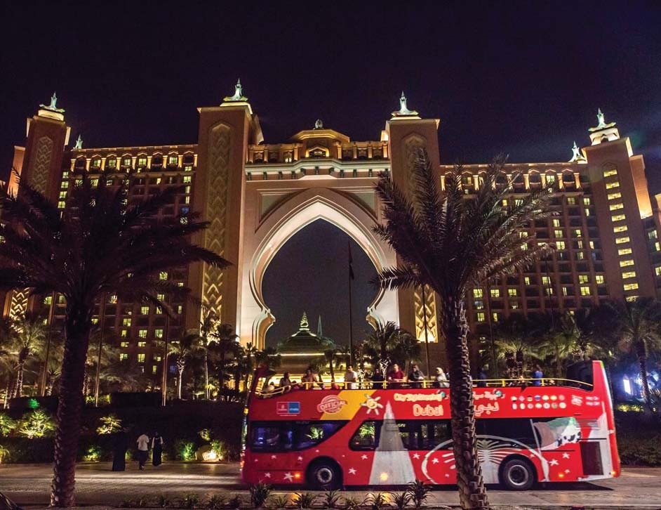 Dubai City Sightseeing bus