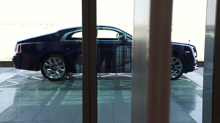 Project: Rolls-Royce Wraith - Inspired by Earth photoshoot