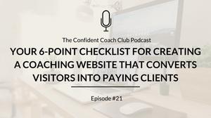 Cover Image Confident Coach Club Podcast Episode 21