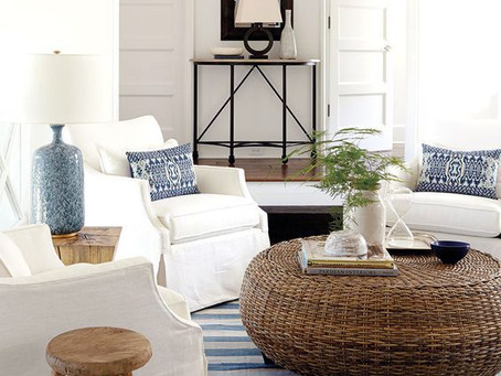 Beach Chic Decorating (aka: when you can't get to the beach bring the beach to you)...