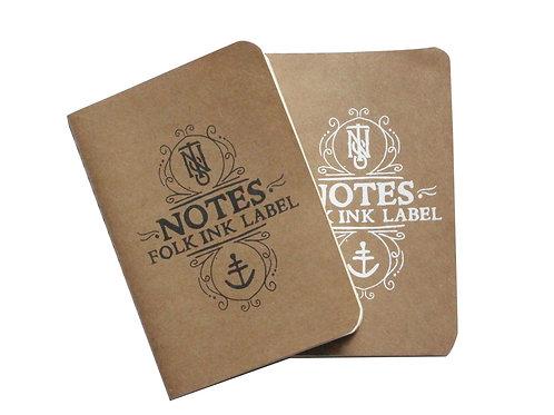 Folk Ink Label Notes