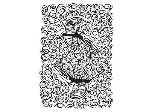 Gravura Bird