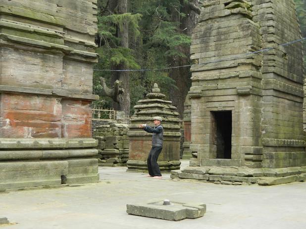 High in the Himalaya Shiva Temple