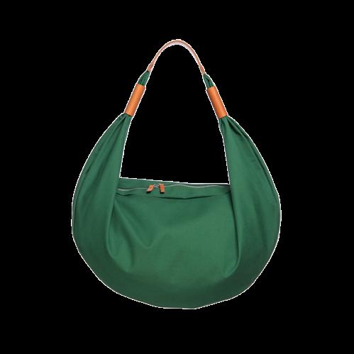 Nomadchik - Sac porté travers vert - sac cuir bandoulière