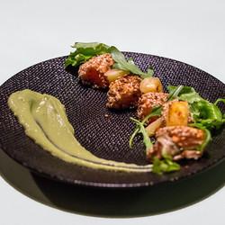 Cuijine-Tataki de saumon
