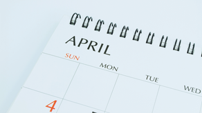April 2021 | Important Dates & What's New