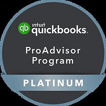QuickBooks ProAdvisor Program Platinum Badge