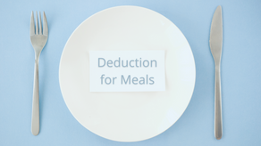 Deducting Business-Related Meal Expenses