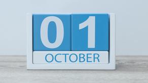 Important October Deadlines