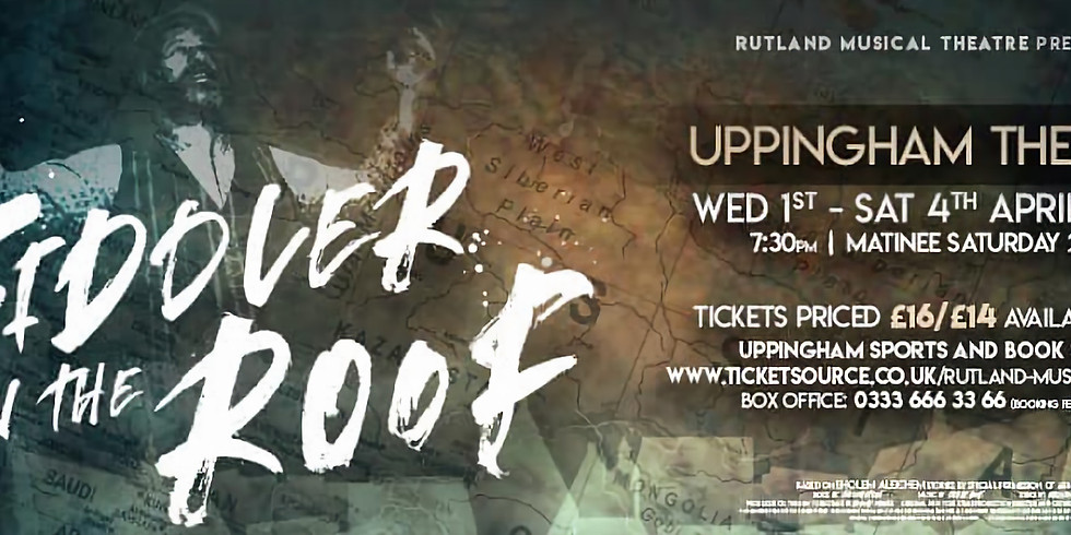 Rutland Musical Theatre: Fiddler on the Roof