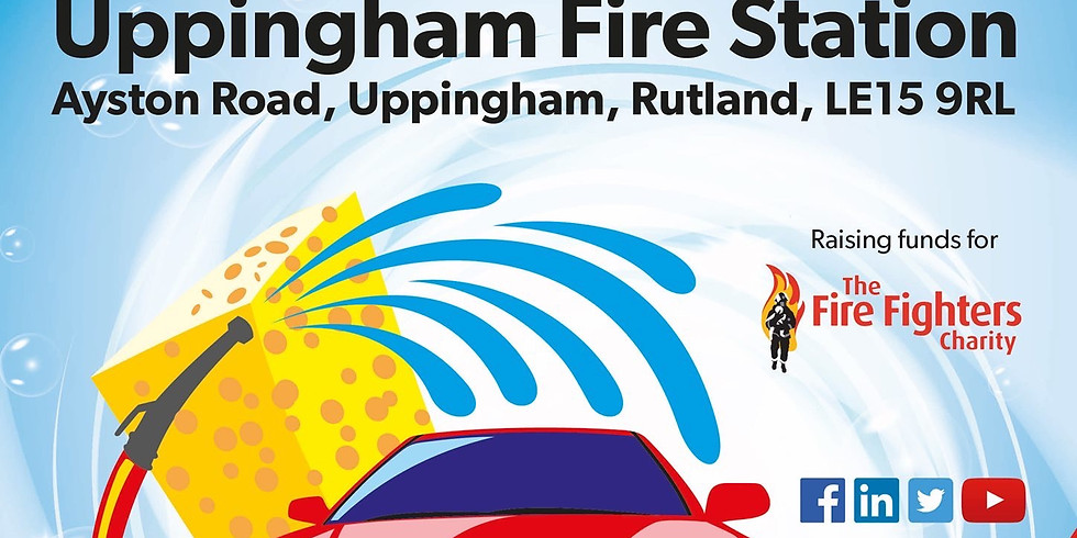 Charity Car Wash from Uppingham Fire Station
