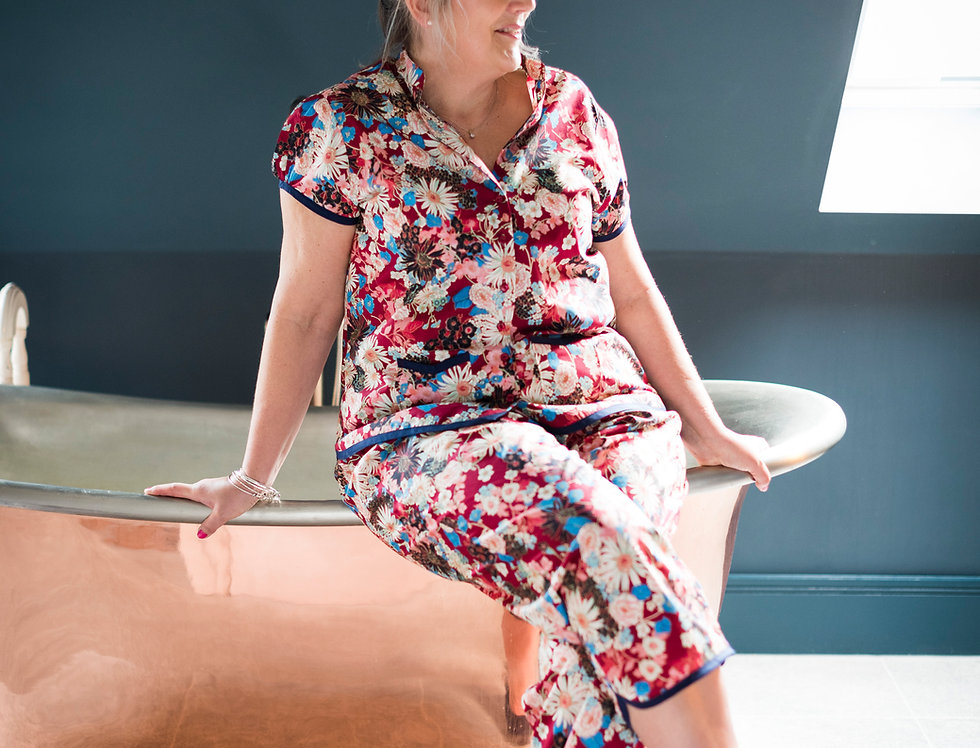 Women's Complete Dressmaking Kit: The Piccadilly Pyjamas by Nina Lee
