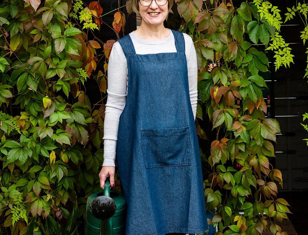 Women's: Tunic Style Apron by Tessuti Patterns (Level: Beginner)