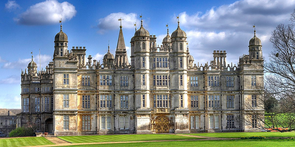 Burghley South Gardens Open for Charity