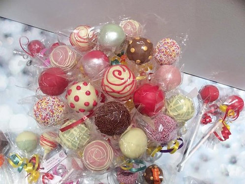 12 Luxury Cakepops
