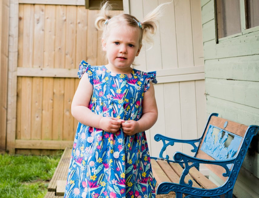 Infants: The Geranium Dress - Made By Rae Ages 0-5yr (Level: Intermediate)