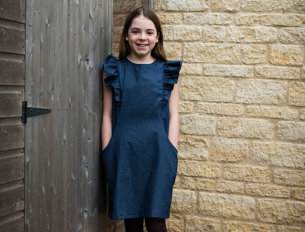 Tweens (9 to 13 years): The Alice Dress by Bobbin and Buttons