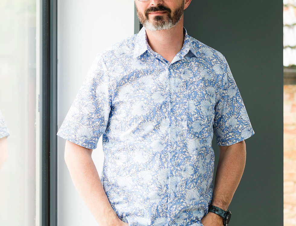 Men's: The Jensen Shirt by Wardrobe By Me (Level: Intermediate)