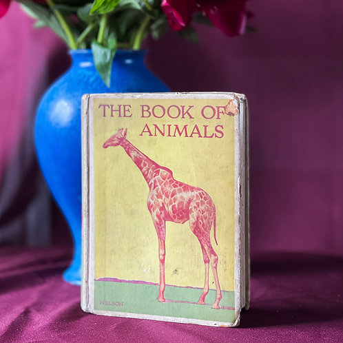 Vintage The Book of Animals by Nelson (Circa Early 20th Century)