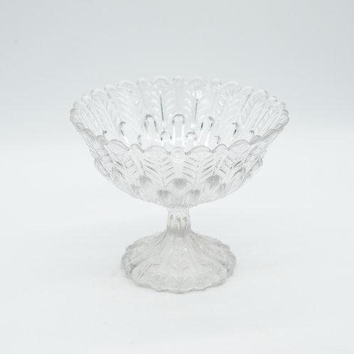 Vintage Glass Bon Bon Dish