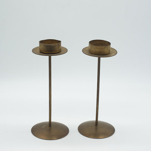 Vintage Brass Tealight Holders