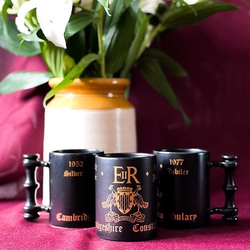 Set of 3 Vintage Portmeirion Silver Jubilee Tankard Mugs