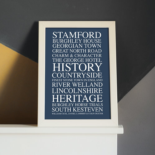 Limited Edition Stamford A4 Print (Unframed)