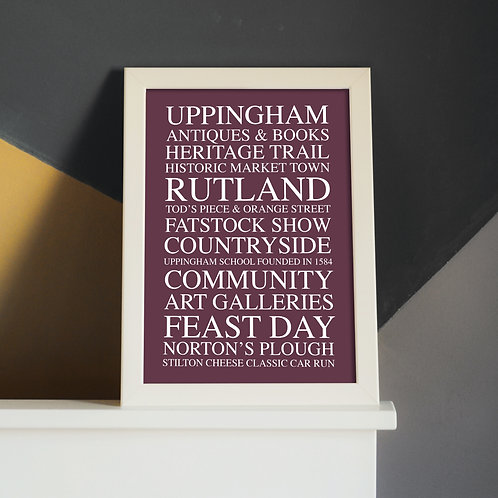 Limited Edition Uppingham A4 Print (Unframed)