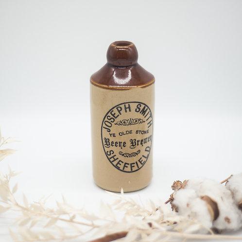Vintage Joseph Smith Sheffield Brewery Pearsons Stoneware Bottle