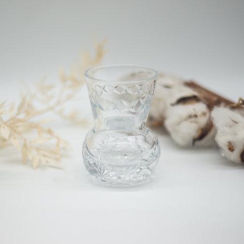 Vintage Cut Glass Toothpick Holder or Mini Vase