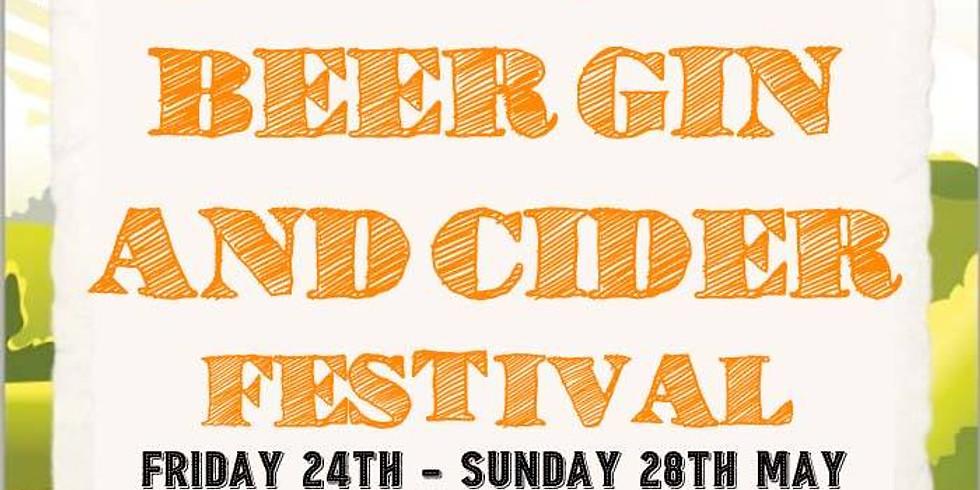 Beer, Gin & Cider Festival