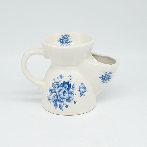 Vintage Blue & White Floral Dalyn Ceramics Shaving Mug