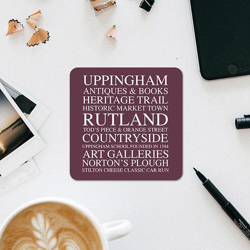 Uppingham Coaster