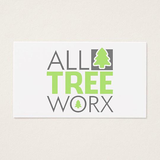 Logo design for All Tree Worx