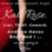 Kali Rose Must Die
