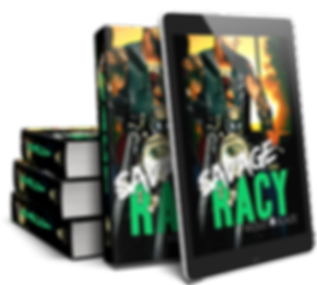 Savage and Racy by Violet Blaze aka CM Stunich