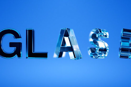 Glass typeface [with smart Typeface script]