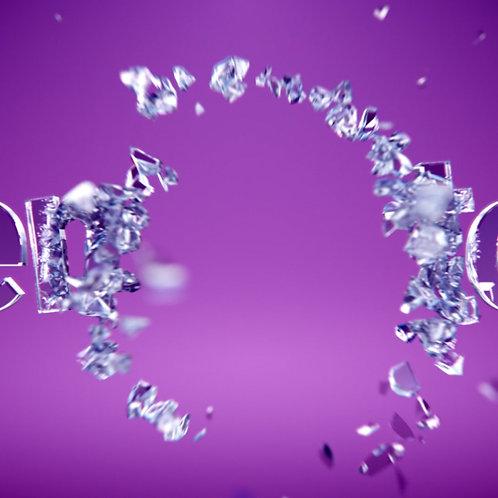 Breaking glass [c4d+ae]