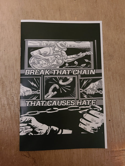 """Comic Book """"Break that chain, that causes hate"""""""