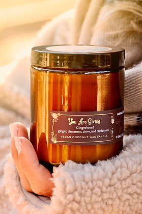 You Are Giving Gingerbread 8oz Candle